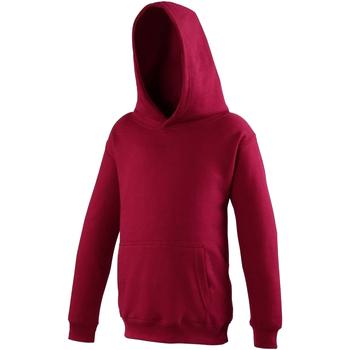 textil Niños Sudaderas Awdis JH01J Rojo chillón
