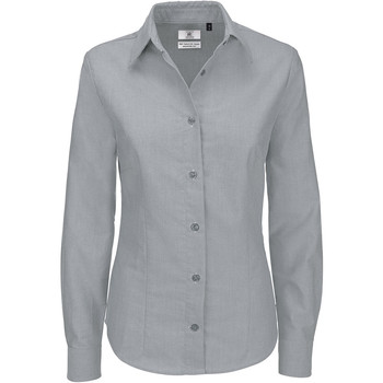 textil Mujer Camisas B And C SWO03 Gris claro