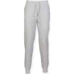 textil Hombre Pantalones de chándal Skinni Fit Cuffed Gris