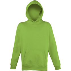 textil Niños Sudaderas Awdis JH04J Verde eléctrico