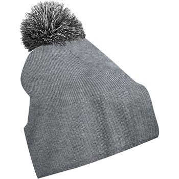 Accesorios textil Niña Gorro Beechfield Snowstar Gris/negro