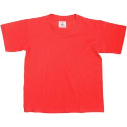 textil Niños Camisetas manga corta B And C Exact Rojo