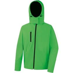 textil Hombre Polaire Result R230M Verde vivo/Negro