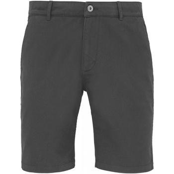 textil Hombre Shorts / Bermudas Asquith & Fox AQ051 Pizarra