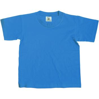 textil Niños Camisetas manga corta B And C Exact Turquesa