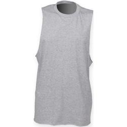 textil Hombre Camisetas sin mangas Skinni Fit SF232 Gris