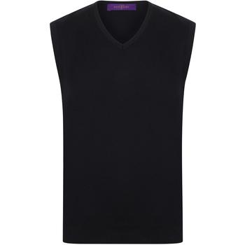 textil Hombre Camisetas sin mangas Henbury HB724 Negro