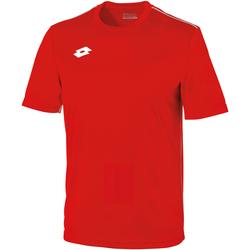textil Niños Camisetas manga corta Lotto LT26B Rojo/blanco