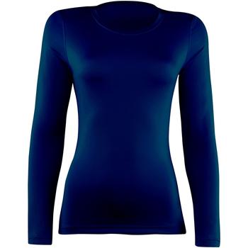textil Mujer Camisetas manga larga Rhino  Azul marino