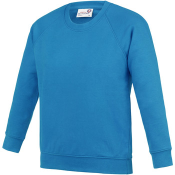 textil Niños Sudaderas Awdis AC01J Azul zafiro