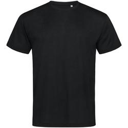 textil Hombre Camisetas manga corta Stedman  Negro ópalo