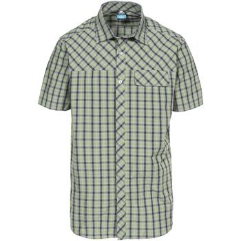 textil Hombre Camisas manga corta Trespass Juba Verde
