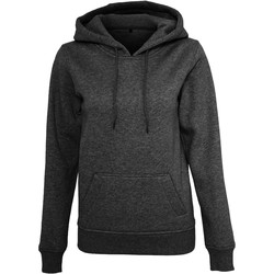 textil Mujer Sudaderas Build Your Brand BY026 Negro