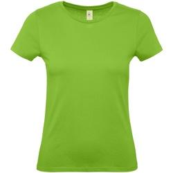 textil Mujer Camisetas manga corta B And C E150 Verde Orquídea