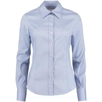 textil Mujer Camisas Kustom Kit KK702 Azul claro