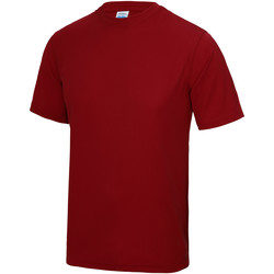 textil Niños Camisetas manga corta Awdis JC01J Rojo Fuego