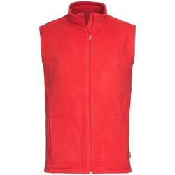 textil Hombre Chaquetas de punto Stedman  Rojo Escarlata