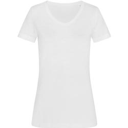 textil Mujer Camisetas manga corta Stedman Stars  Blanco