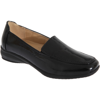 Zapatos Mujer Mocasín Boulevard  Negro charol