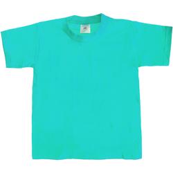 textil Niños Camisetas manga corta B And C TK301 Azul agua