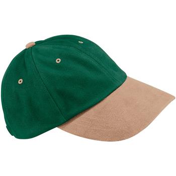 Accesorios textil Gorra Beechfield B57 Verde Bosque/Gris pardo