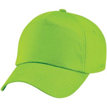 Accesorios textil Gorra Beechfield B10 Verde lima