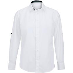 textil Hombre Camisas manga larga Alexandra Hospitality Blanco/Negro