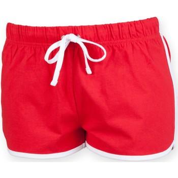 textil Niños Shorts / Bermudas Skinni Fit SM069 Rojo/Blanco