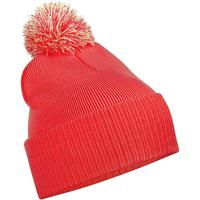 Accesorios textil Niños Gorro Beechfield B450B Rojo/blanco