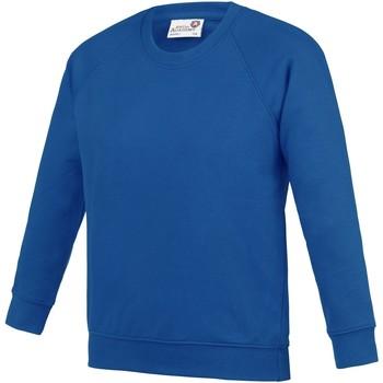 textil Niños Sudaderas Awdis AC01J Azul eléctrico