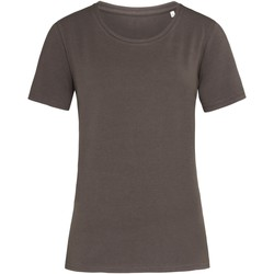 textil Mujer Camisetas manga corta Stedman  Chocolate Oscuro