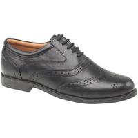Zapatos Hombre Richelieu Amblers Liverpool Negro