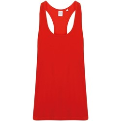 textil Hombre Camisetas sin mangas Skinni Fit SF236 Rojo brillante