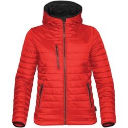 textil Mujer Plumas Stormtech ST804 Rojo/negro