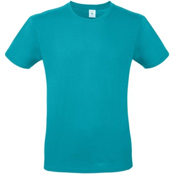 textil Hombre Camisetas manga corta B And C TU01T Turquesa Real