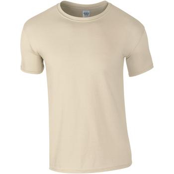 textil Hombre Camisetas manga corta Gildan Soft-Style Arena