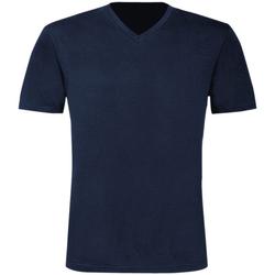 textil Hombre Camisetas manga corta B And C TU006 Azul real