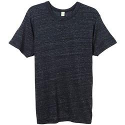 textil Hombre Camisetas manga corta Alternative Apparel AT001 Negro Eco