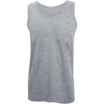 textil Hombre Camisetas sin mangas Gildan 64200 Gris Sport