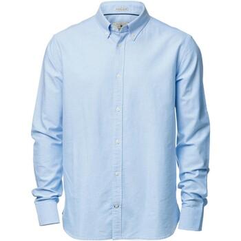 textil Hombre Camisas manga larga Nimbus NB45M Azul claro