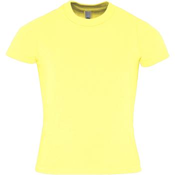 textil Niños Camisetas manga corta American Apparel AA057 Amarillo limón
