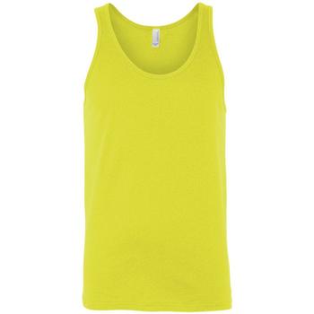 textil Mujer Camisetas sin mangas Bella + Canvas CA3480 Amarillo fluorescente
