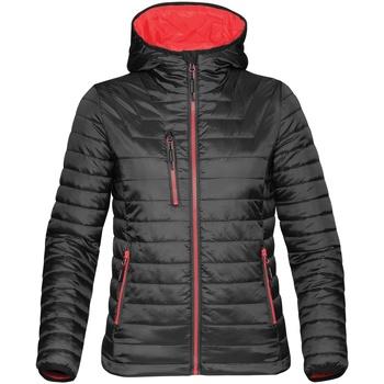 textil Mujer Plumas Stormtech ST804 Negro/rojo
