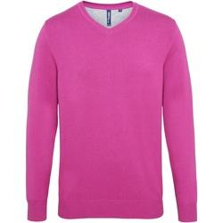 textil Hombre Jerséis Asquith & Fox AQ042 Rosa