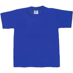 textil Niños Camisetas manga corta B And C TK301 Azul