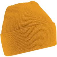 Accesorios textil Hombre Gorro Beechfield Soft Feel Mostaza