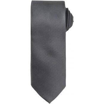 textil Hombre Corbatas y accesorios Premier Waffle Gris oscuro
