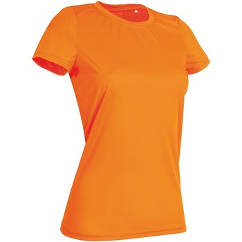 textil Mujer Camisetas manga corta Stedman  Naranja Cyber