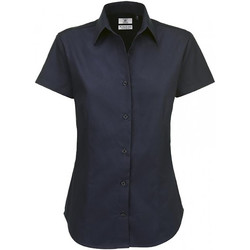 textil Mujer Camisas B And C SWT84 Azul real