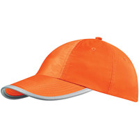 Accesorios textil Gorra Beechfield BC035 Naranja fluorescente